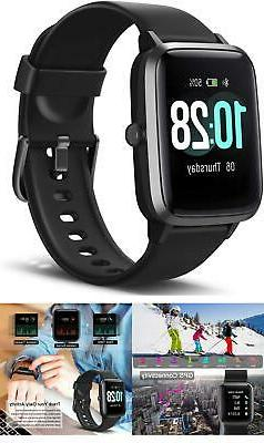 Smart Watch Fitness Tracker with Heart Rate Monitor, Activit