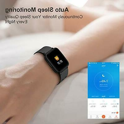 Smart Watch Heart Monitor Activity iPhone Touch