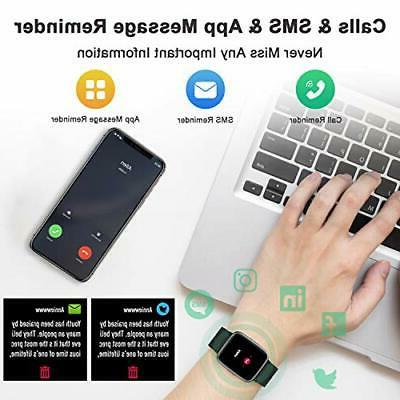 Smart Watch Rate Monitor Fit iPhone