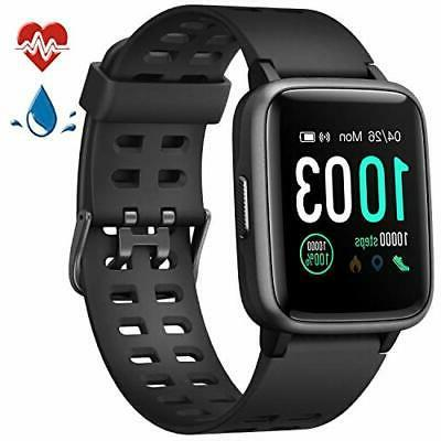 smart watch heart rate monitor fit activity