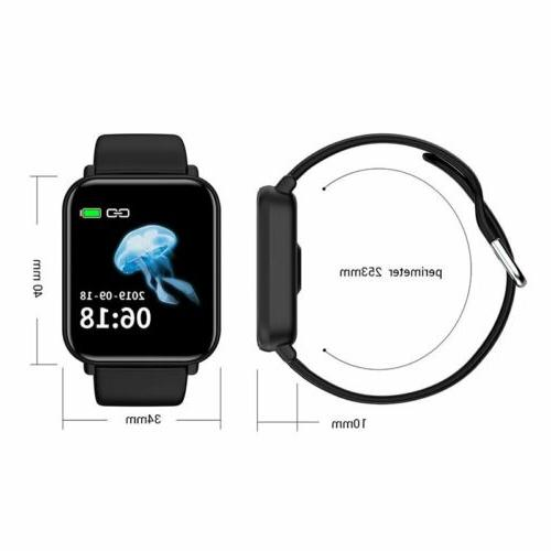Smart Watch Oxygen Blood Wristband for IOS