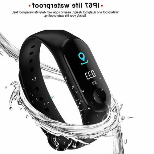 Smart Heart Rate Monitor Blood Pressure Fitness