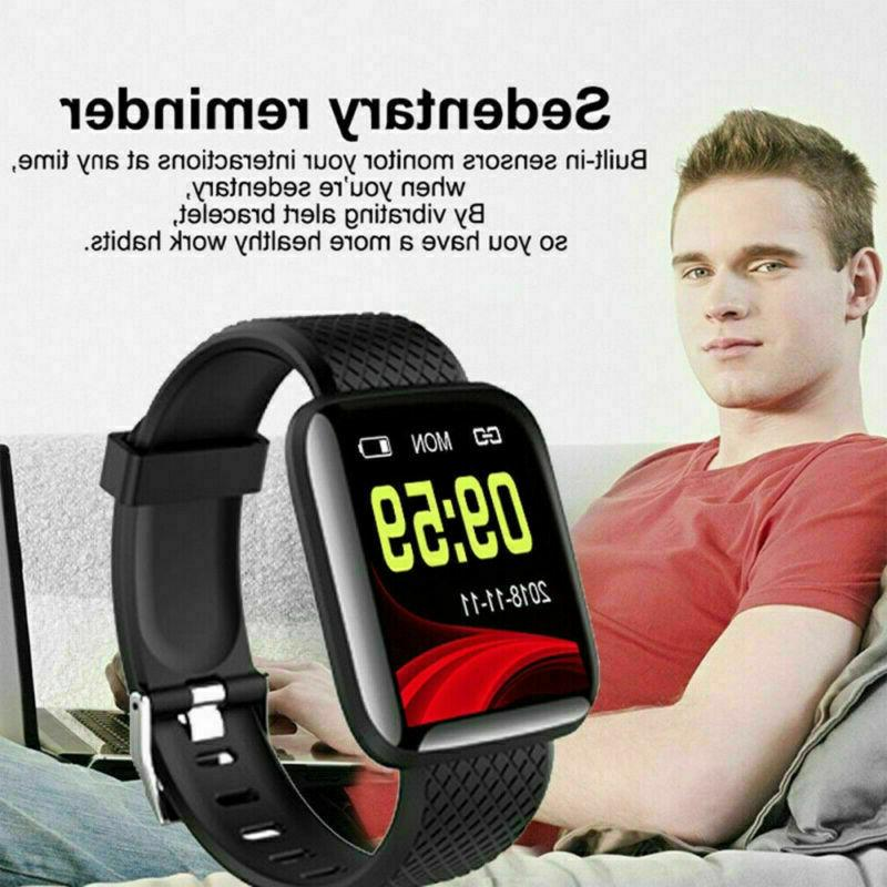 Smart Watch Rate Fitness Tracker Activity