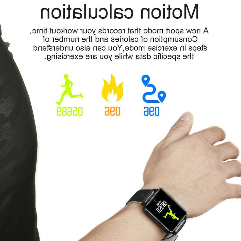 Waterproof Sport Blood Pressure Heart Monitor iOS