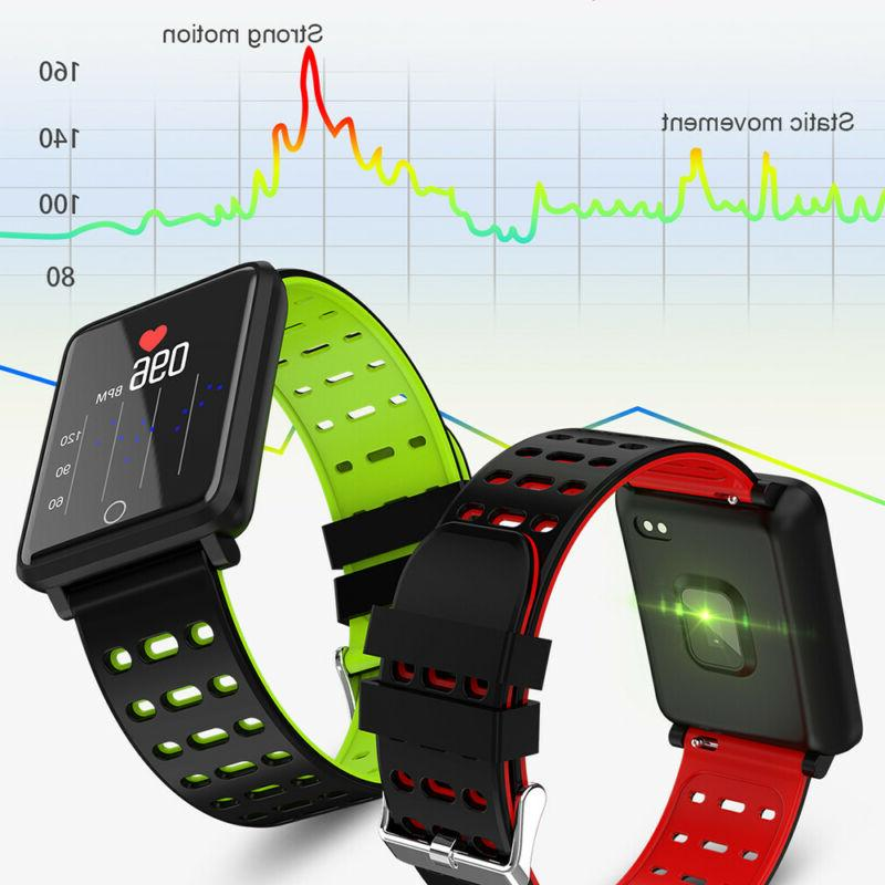 Waterproof Smart Watch Blood Pressure Monitor