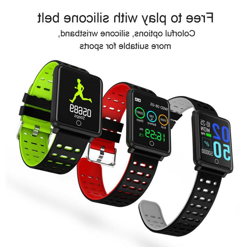 Waterproof Watch Blood Pressure Monitor iOS Android