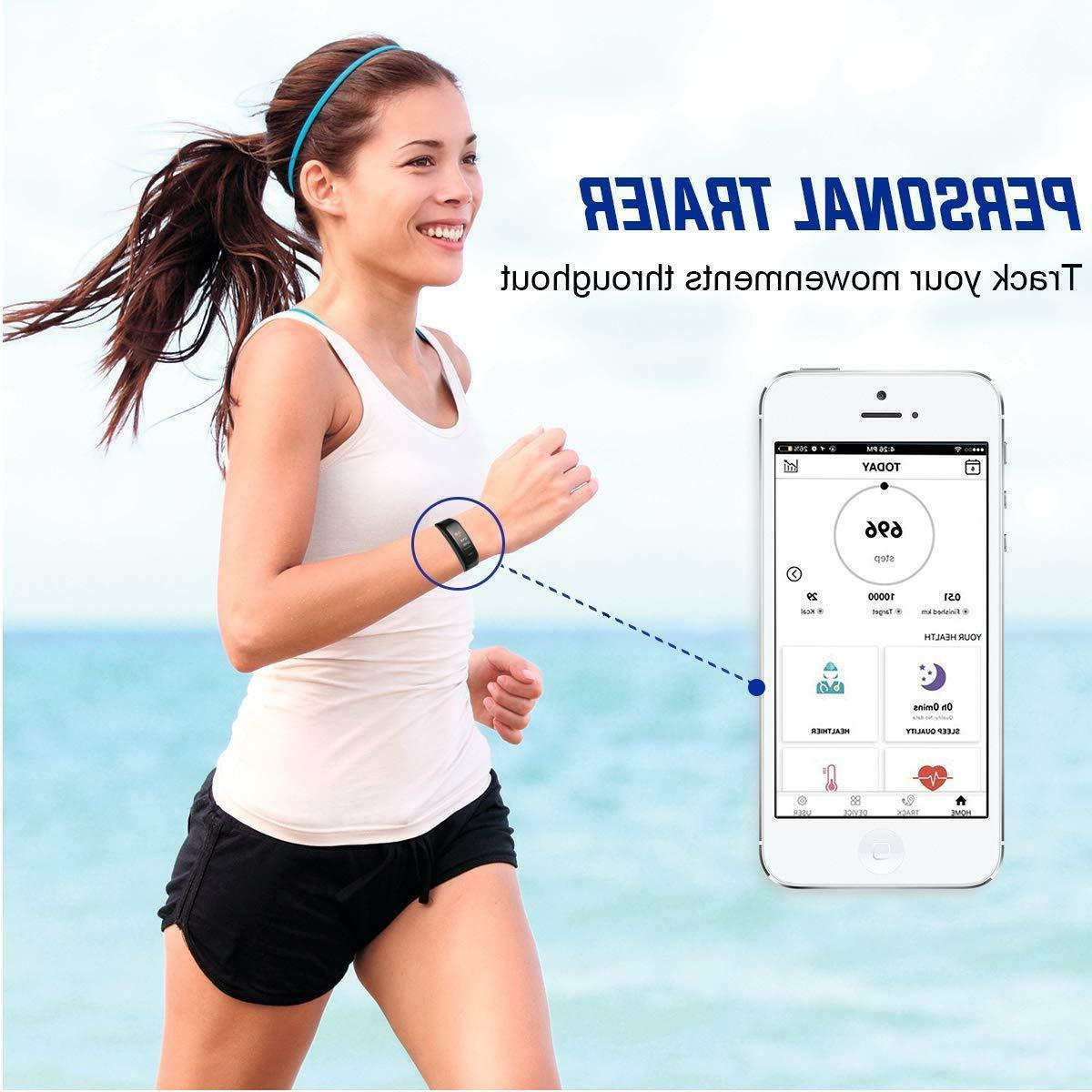 Sports Blood Monitor Smart Wrist Bracelet