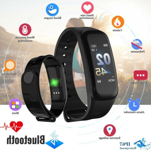 Fitness Tracker Blood Pressure Monitor