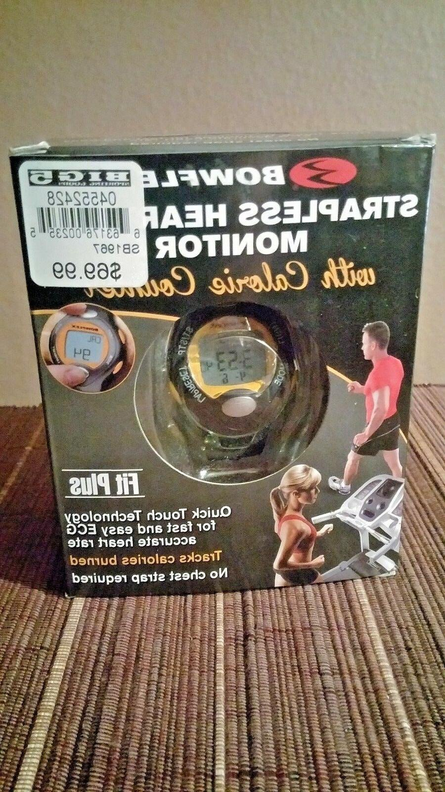 strapless heart rate monitor and calorie counter
