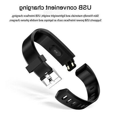 Smart HeartRate Monitor Track*er Bracelet