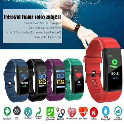 Smart Watch Wristband HeartRate Monitor Blood Pressure Fitne
