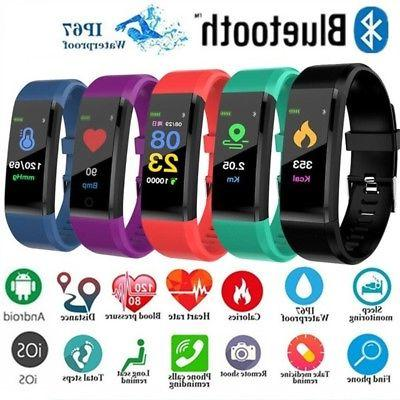 us smart watch wristband heartrate monitor blood