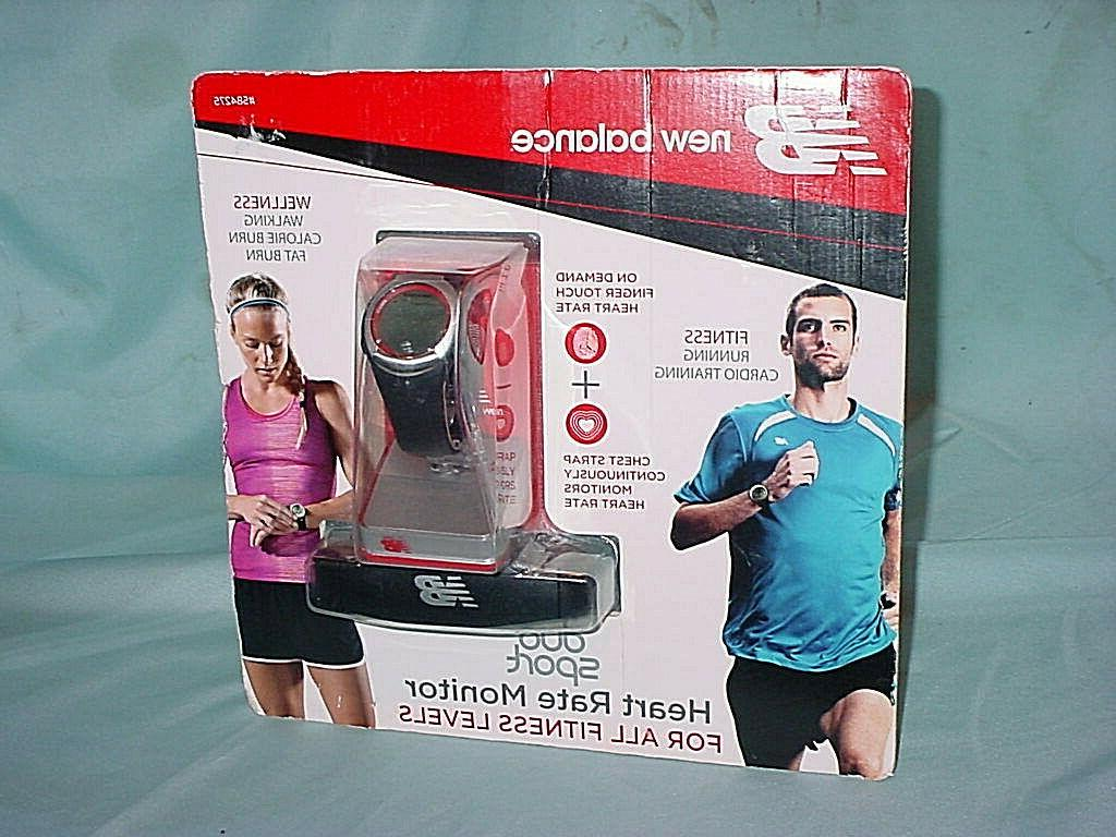 New Balance Watches Duo Sport Heart Rate Monitor Black, One