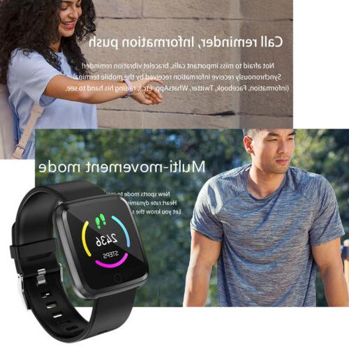 Water Resistant Sport Smart Watch Pressure Rate