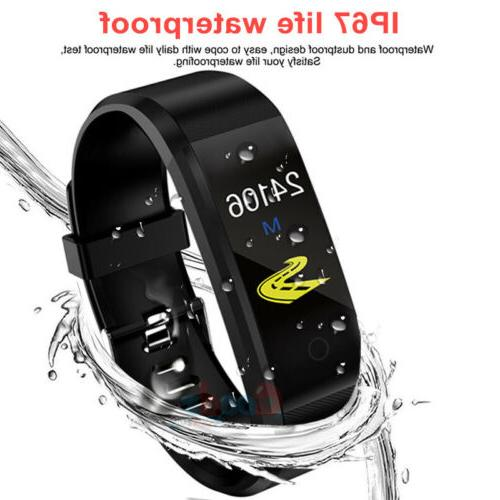 Waterproof Heart Fitness Tracker