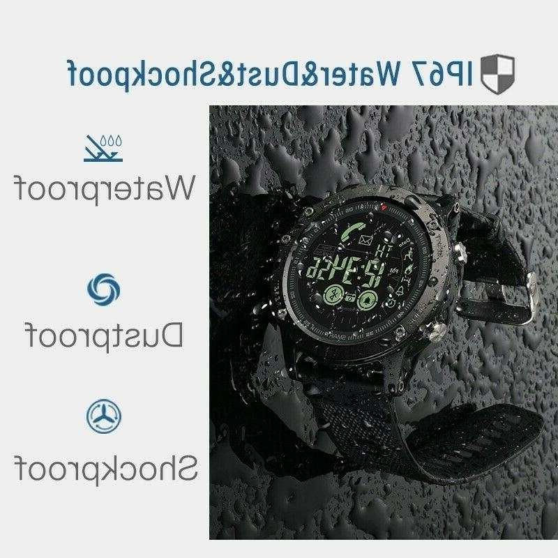 Waterproof Watch Rugged Tactical iOS Android