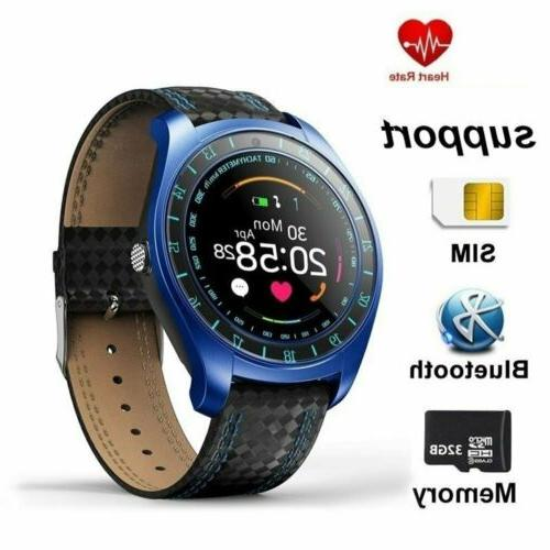Waterproof Smart Blood Pressure Heart Rate Monitor for iOS Android
