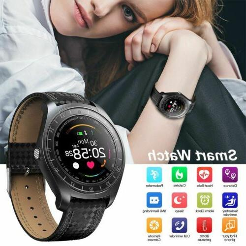 Waterproof Sport Smart Watch Blood Monitor for Android