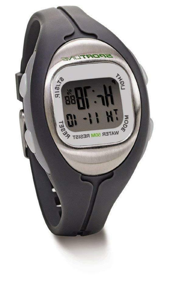 SPORTLINE Women's Solo 915 Strapless Heart Rate Monitor Calo