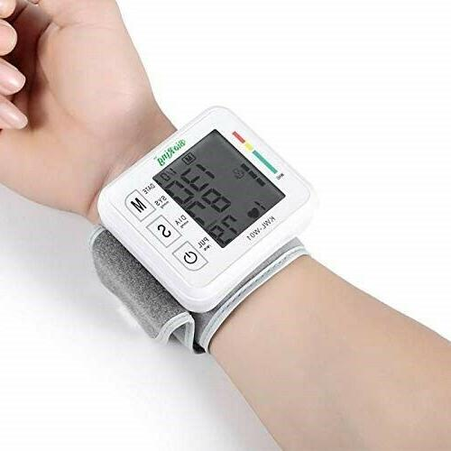 Wrist Pressure Monitor Pulse/Heart Rate Voice Reminder