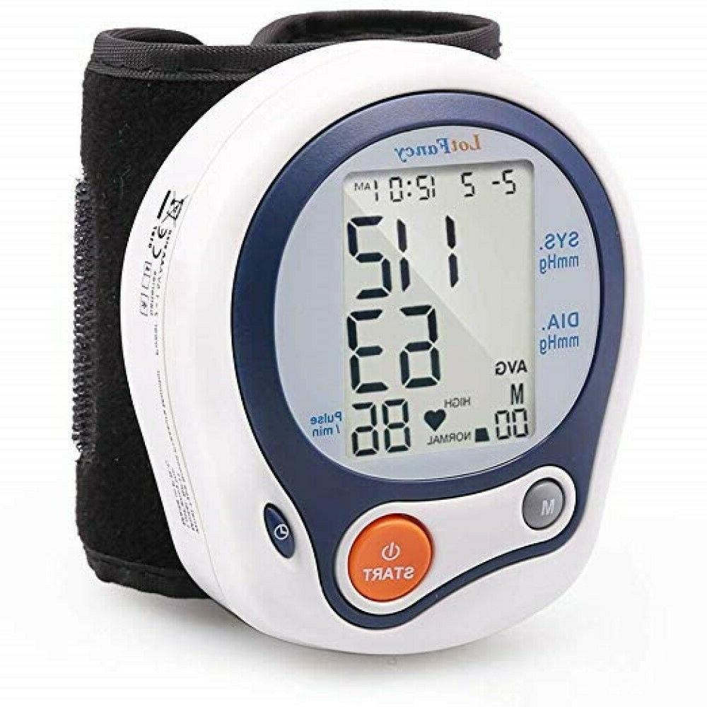 Wrist Blood Sphygmomanometer Rate Machine Bracelet