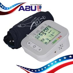 LCD Digital Upper Arm Blood Pressure Monitor Electric Heart
