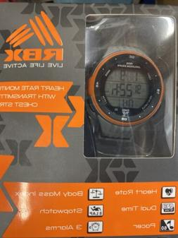 RBX Live Life Active Heart Rate Monitor With Transmitter Che