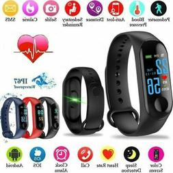 M4 Smart Band Watch Heart Rate Blood Pressure Fitness Tracke
