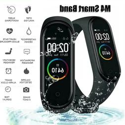 M4 Smart Watch Heart Rate Blood Pressure Monitor Sport Band
