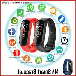 M4 Smart Watch Heart Rate Blood Pressure Monitor Sports Trac