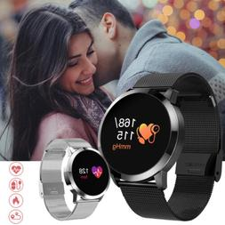 Men Smart Watch Fashion Women Heart Rate Monitor Fitness Tra