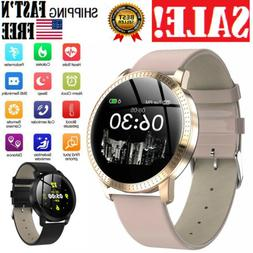 Men Women Bluetooth Smart Watch Heart Monitor Rate Gifts For