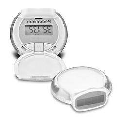 Mighty Pedometer/Activity Tracker & Calorie Counter -solar o