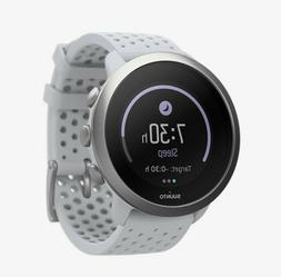 New Suunto 3 Watch, Pebble White, Heart Rate Monitor