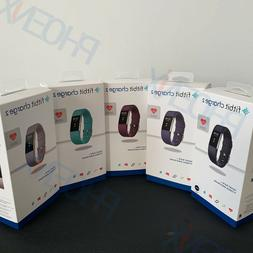 New Fitbit Charge 2 Heart Rate  Monitor Activity Tracker Fit