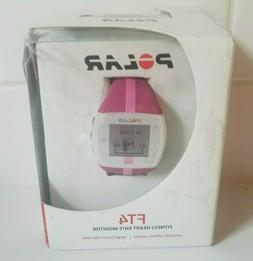 NEW IN BOX POLAR FT4 FITNESS HEART RATE MONITOR PINK