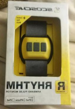 New in Box Scosche RHYTHM Bluetooth Armband Heart Rate Monit