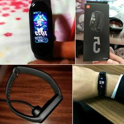 NEW Xiaomi MI Band 5 20% Larger AMOLED Screen Magnetic Charg