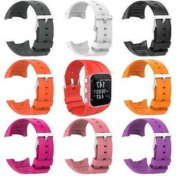 New Silicone Bracelet Strap Watch Band Replacement with Tool