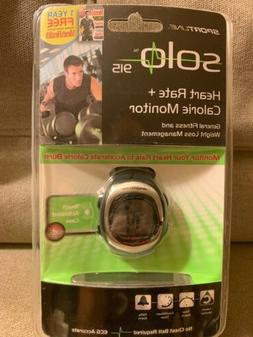 New Sportline Solo 915 Heart Rate + Calorie Monitor Wrist Wa
