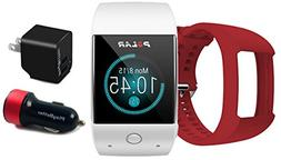 Polar M600  GPS Watch BUNDLE with Extra Band  & PlayBetter W