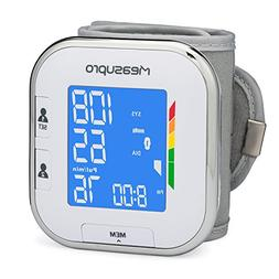 MeasuPro Portable Automatic Wrist Blood Pressure Monitor wit