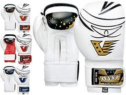 VELO Professional Boxing Gloves Bag Training Sparring Punch