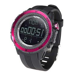 Pyle PSWWM82PN Digital Multifunction Sports Watch with Altim