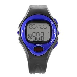 Pulse Heart Rate Monitor Calories Counter Fitness Watch Digi