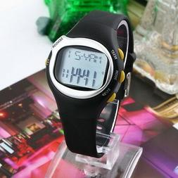 Pulse Heart Rate Monitor Wrist Watch Calories Counter Sports