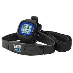 Pyle-Sports PSWGP405BL GPS Watch with Heart Rate Transmissio