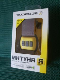 Scosche RHYTHM Bluetooth Armband Heart Rate Monitor - Yellow