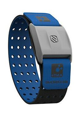 Scosche Rhythm+ Heart Rate Monitor Armband - Blue - Optical