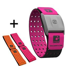 Scosche Rhythm+ Heart Rate Monitor Armband - Pink - Optical